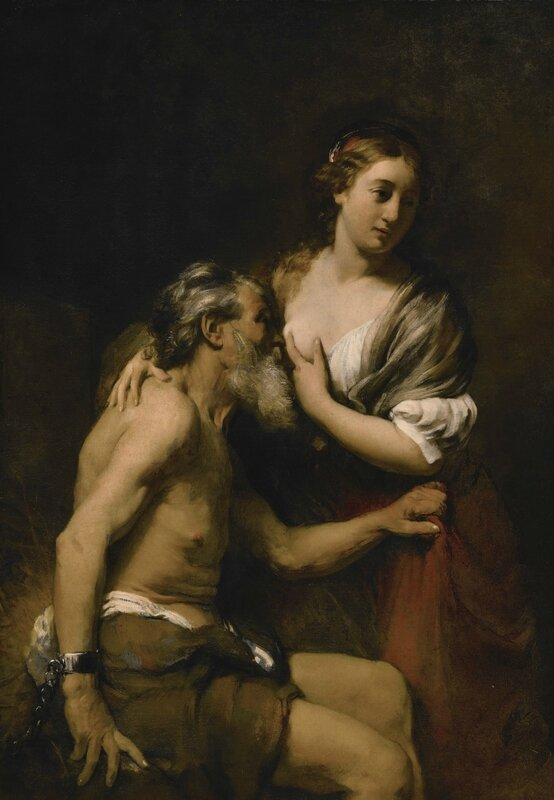 William Drost (Amsterdam 1633 - 1659 Venice, Roman Charity