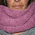Snood tricoté