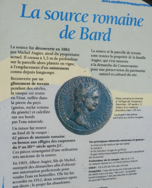Source Romaine de Bard