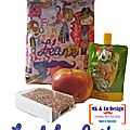 Mini lunch bag goûter léane - mk & co design