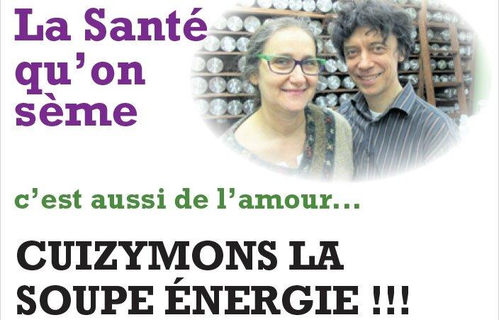 CUIZYMONS LA SOUPE ÉNERGIE!!!