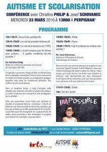 programme perpignan scolarisation