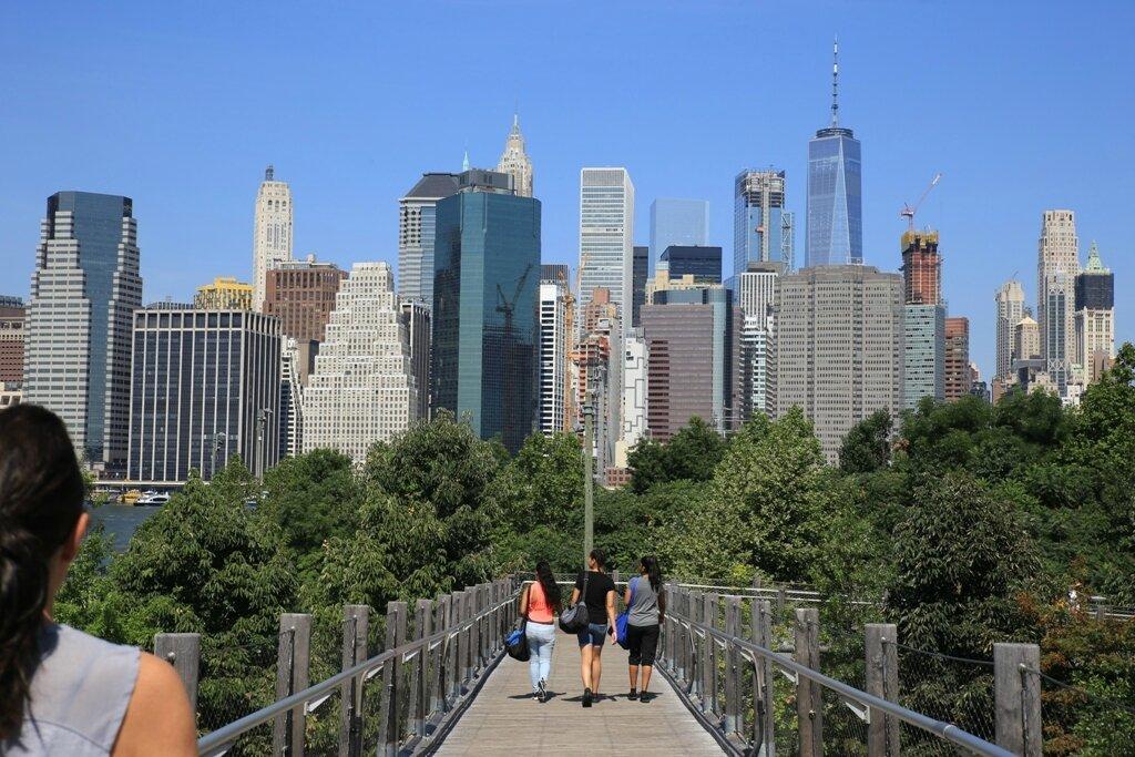 Pierrepont, vue sur Manhattan