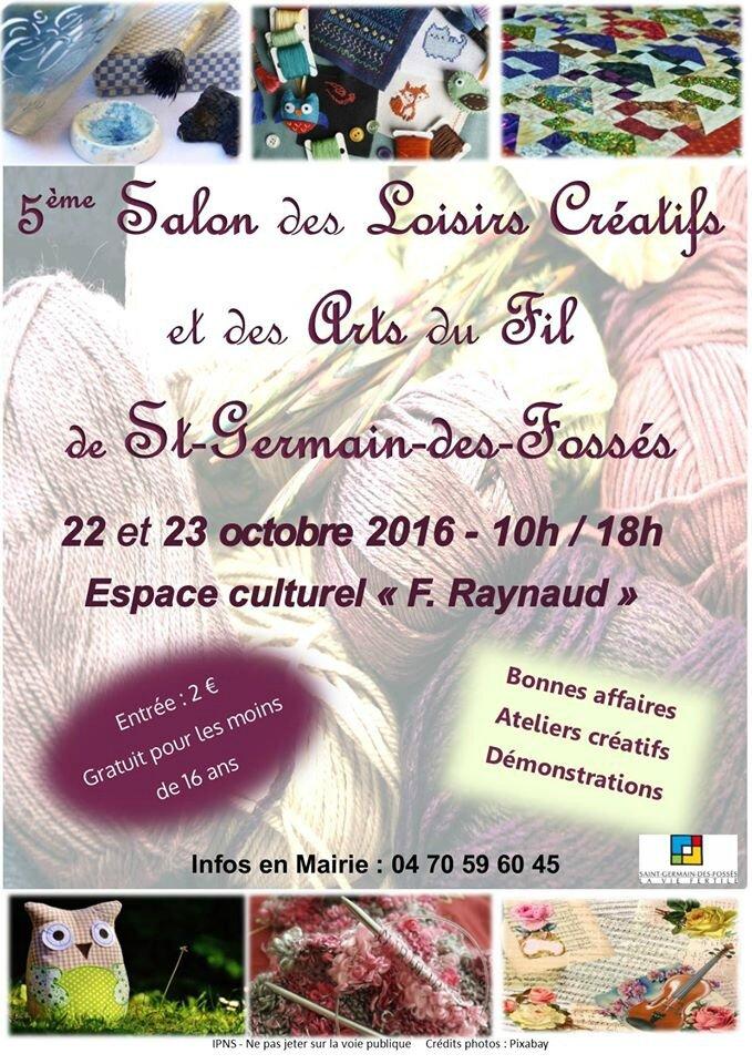 Attention fermeture exceptionnelle et salon creatif - Salon loisirs creatifs clermont ferrand ...