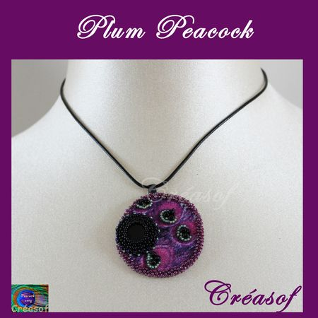 collier plum peacock 2