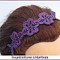 Tuto ribambelle de fleurs perlées au crochet