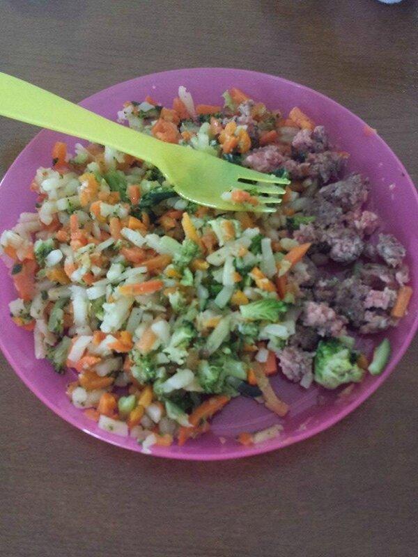 jardinière de légumes steak hache