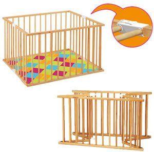 combelle parc pliant carr h tre lilou ouistiti. Black Bedroom Furniture Sets. Home Design Ideas