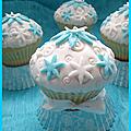 Les cupcakes en pâte à sucre