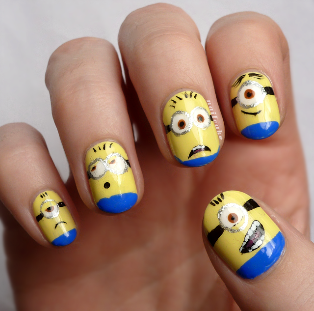Despicable-Me-2-Minions-Nail-Art-2