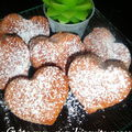 Petits gteaux aux biscuits roses