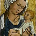 German museum staatsgalerie stuttgart returns painting of the virgin and child looted by nazis