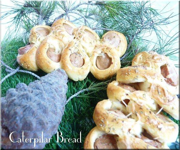 caterpilar bread 1