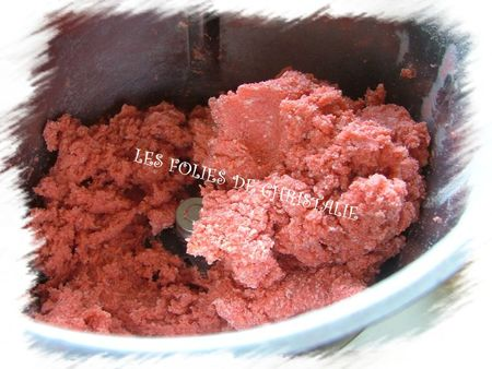 Sablés aux biscuits roses 5