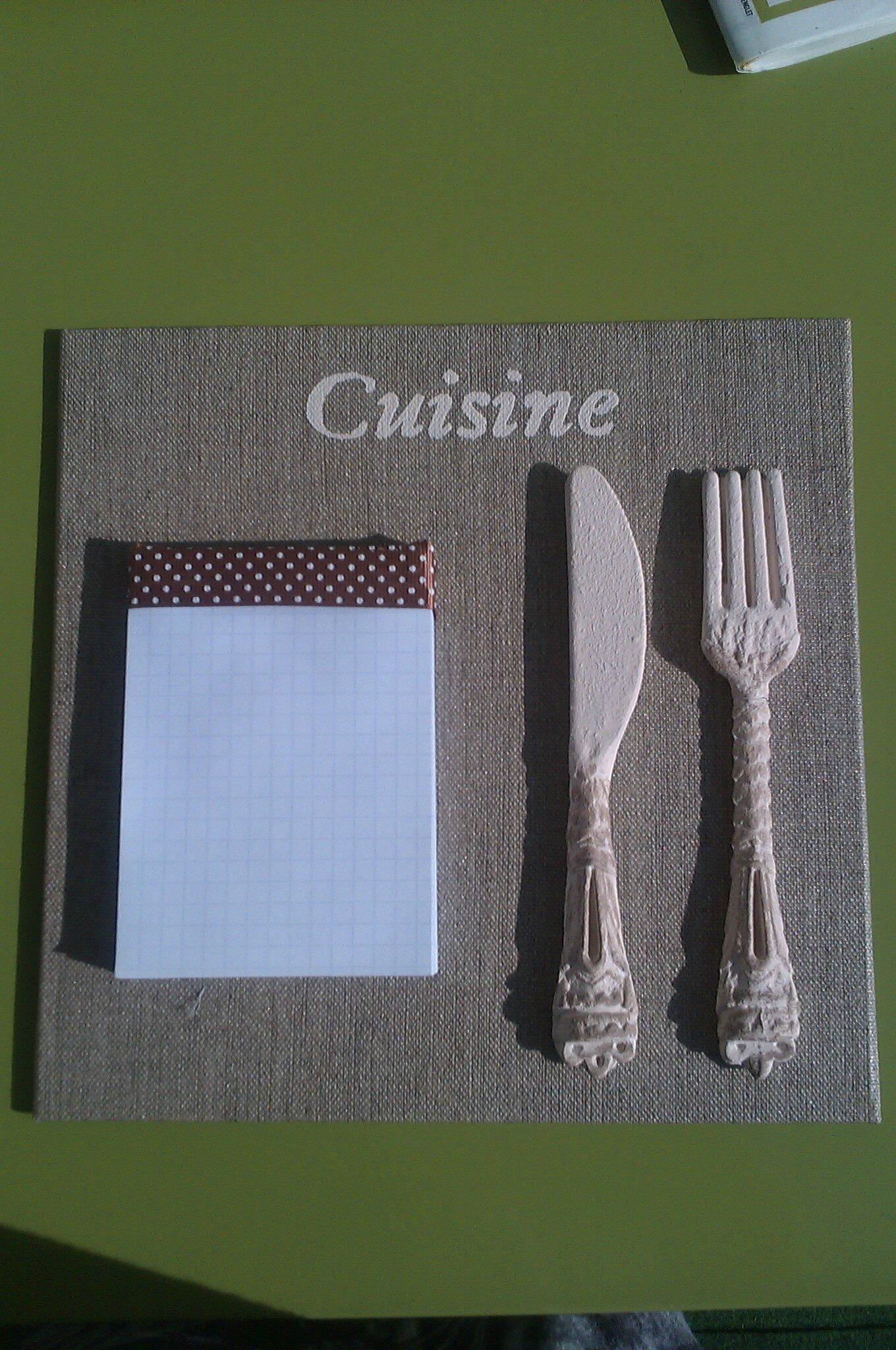 L 39 atelier de sara - Tableau pense bete pour cuisine ...