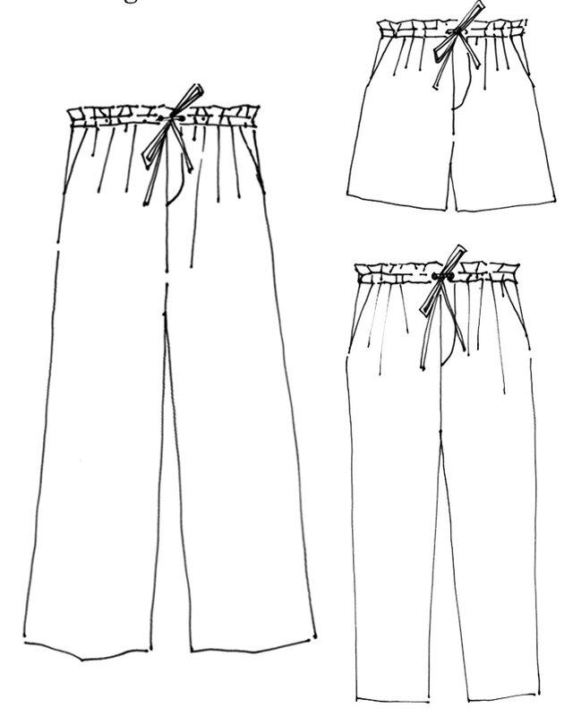 Merchant & Mills - The 101 Trousers Pattern