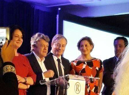 Jean-Louis Borloo, Nathalie Delattre, Laurent Hénart, Guillaume Lacroix, Sylvia Pinel