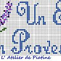 grille un été en Provence