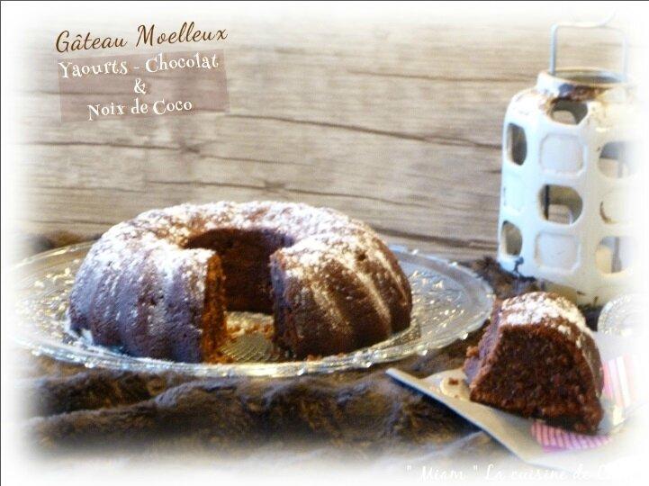 gâteau yaourt choco coco1