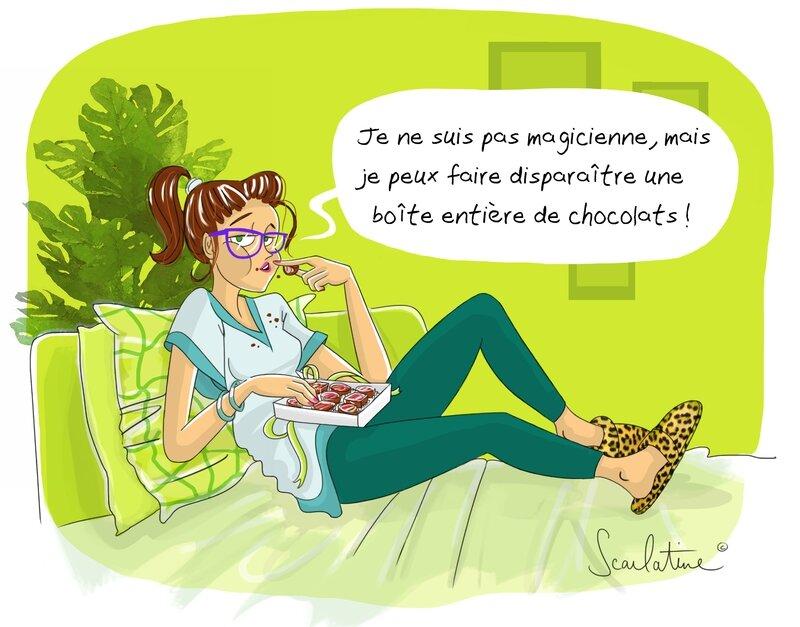 Chocolats mars 2016