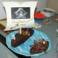 2008 Novembre - Gteau Pirates (Anniversaire Nathan)