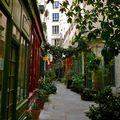 Clin d'oeil à Walter Benjamin ; pittoresque passage de l'Ancre.
