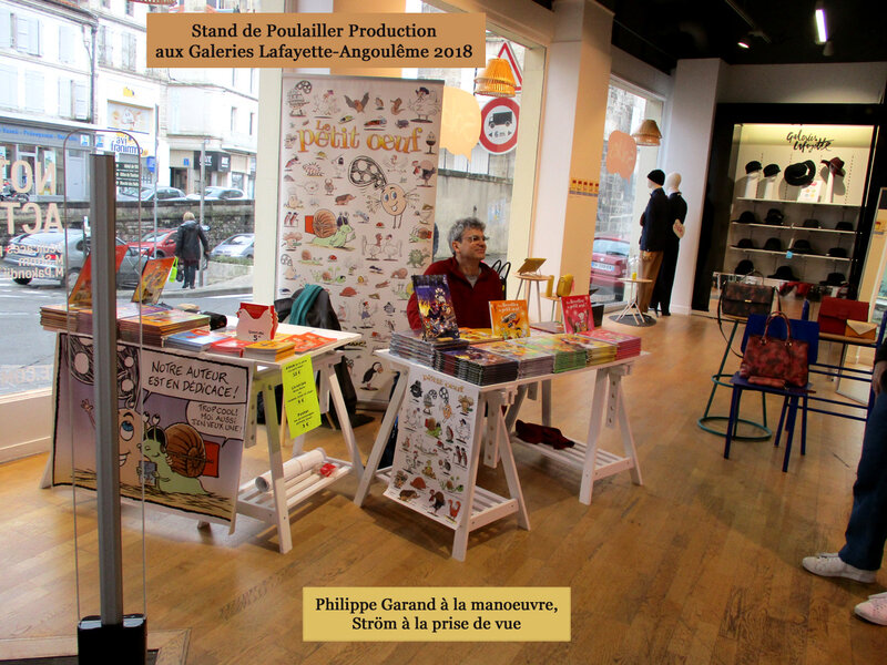 Angoulême 2018-Stand du Poulailler 2