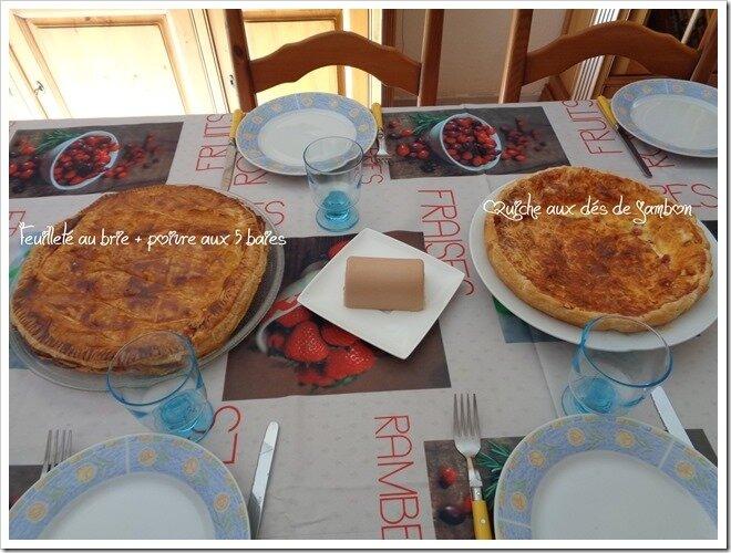 Repas entre amis id e menu a table chez natt for Menu de repas entre amis