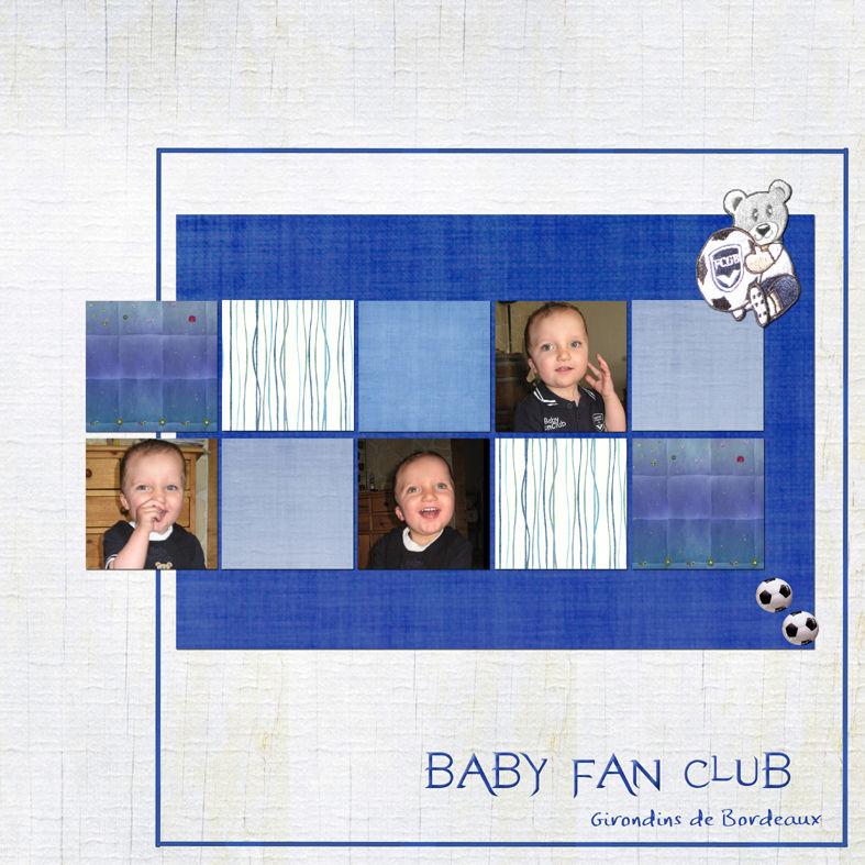 Baby fan club
