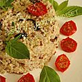 Variations sur un reste de quinoa cuit - version ii marine