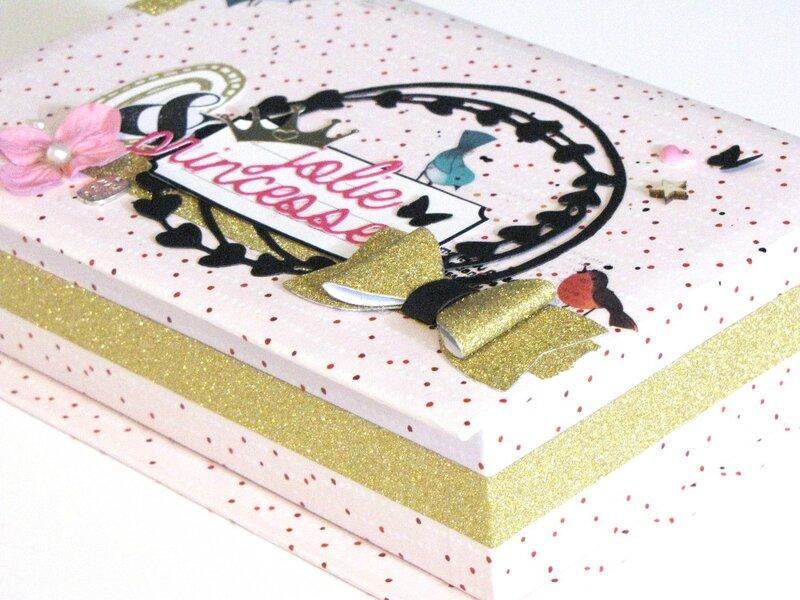 boite à bijoux customisée par Jasmina pour Cartoscrap (4)