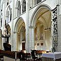 FecaTrin224Élévations nord vues depuis le chœur (début du XIIIe siècle)