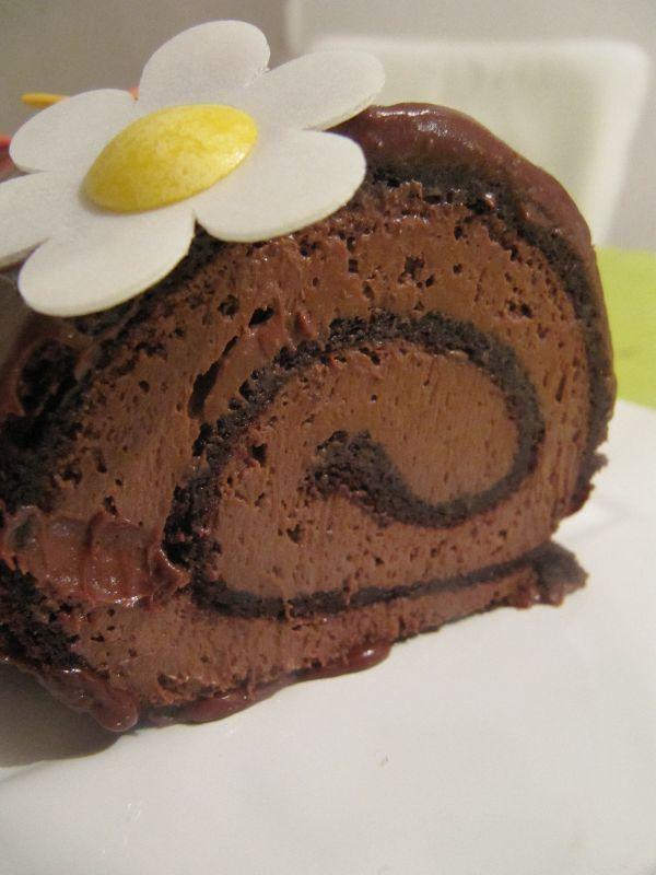 Buche de noel recette mousse au chocolat