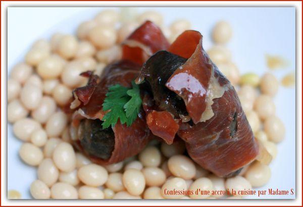 Joues de porc au jambon, melon, coco 006