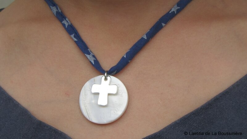 Le collier de Communion d'Amandine