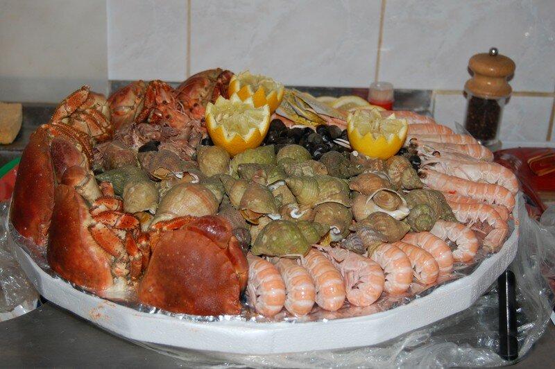 Plateau de fruits de mer tchoune - Plat pour 10 personnes ...