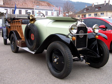 MATHIS Type M Normande chassis long 1924 Bourse Echanges Auto Moto de Chatenois 2009 1