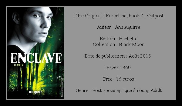 Ann Aguirre - [Enclave ] - T2 - Salvation