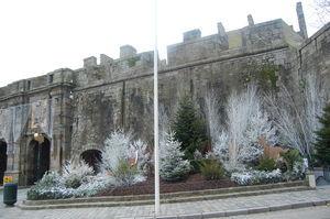 Les remparts de neige de Saint Malo