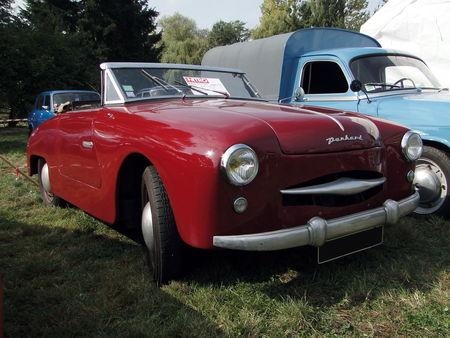 PANHARD Dyna Junior Cabriolet 1954 Nesles Retro Expo 2009 1