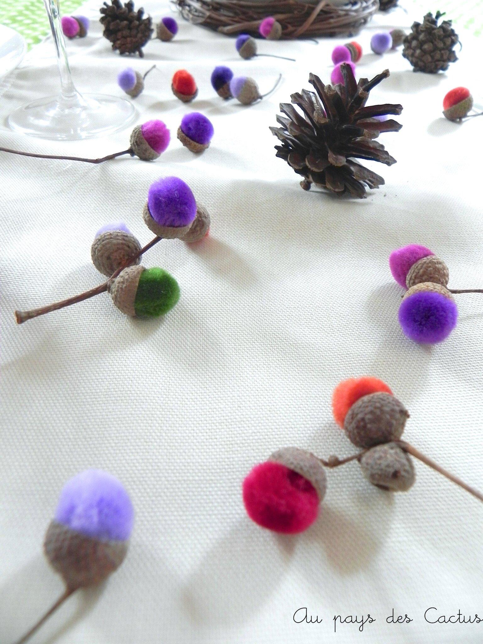 table d 39 automne et sa d co des bois au pays des cactus. Black Bedroom Furniture Sets. Home Design Ideas