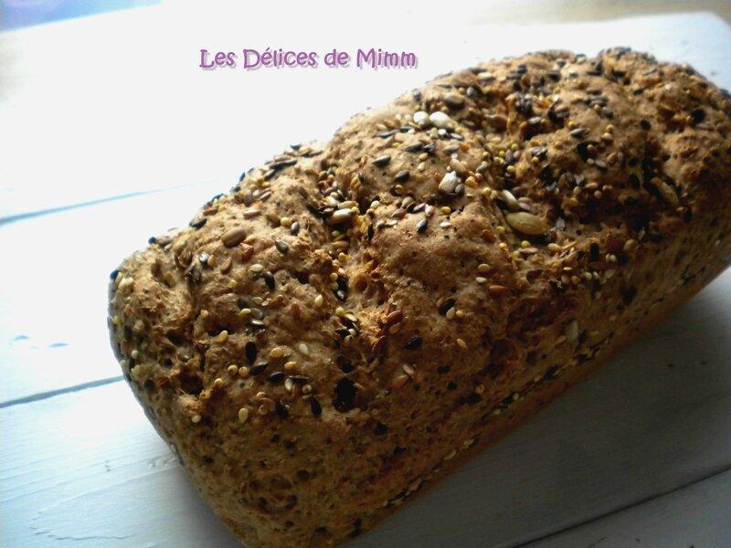 Le meilleur pain intégral (à IG bas) 3