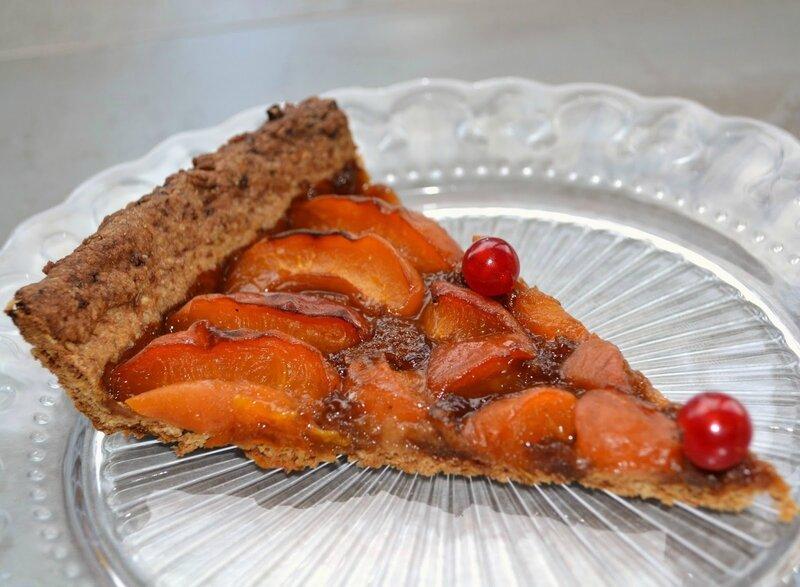 Tarte abricots sucre coco pâte huile olive Marie Chioca 3