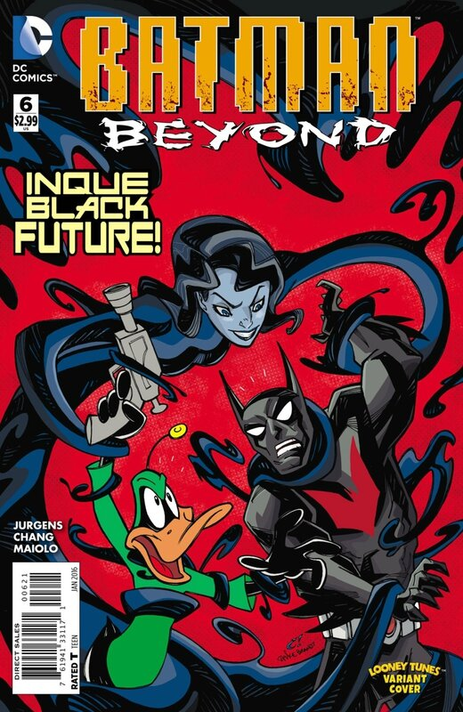 batman beyond 06 looney tunes variant