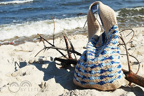sea shells bag