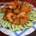 Accras de <b>saumon</b> au Tandoori -