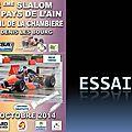 Slalom Pays de l'Ain 2014 - Essais