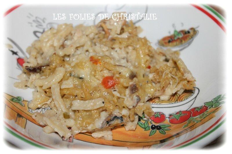 Macaronis au maquereau 7