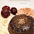 ..mi-cuit au chocolat. le classique qui séduit à tous les coups !..