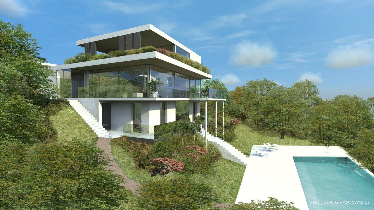 Architecte lyon maison intrieure maison f sebastien belle for Architecte maison individuelle lyon